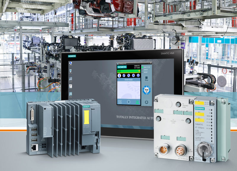 Siemens Simatic automation controller
