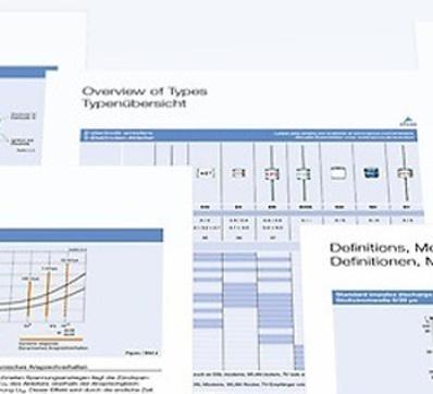TDK EPCOS Catalogues
