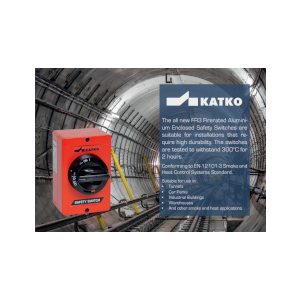 KATKO Firerated Aluminium Enclosed Safety Switch